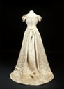 1893 Princess Mary's wedding dress back