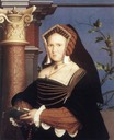 1527ca. Lady Mary Guildford by Hans Holbein the Younger (Saint Louis Art Museum)
