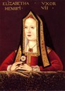 ca. 1530 Elizabeth of York by ? (National Portrait Gallery, London)