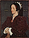 1540 Margaret Lee, Lady-in-Waiting to Anne Boleyn by Hans Holbein the Younger (Metropolitan Museum)
