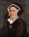 1543 Lady Margaret Butts by Hans Holbein the Younger (Isabella Stewart Gardner Museum, Boston USA)