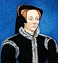 1543 (before) Catherine Bertie (née Willoughby) by Hans Holbein the Younger (location unknown to gogm)