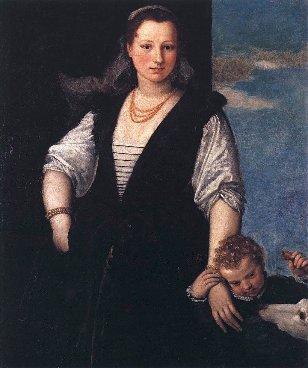 1547 isabella guerrieri gonzaga canossa by paolo veronese for Isabella paris