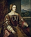 1548 Empress Isabel by Titian (Prado)