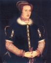 1550s Bess of Hardwick by anonymous follower of Hans Eworth (Hardwick Hall - Doe Lea, Chesterfield, Derbyshire UK)