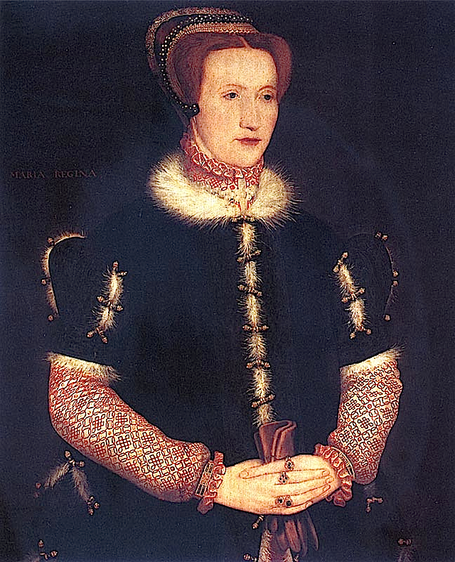 1550s Bess of Hardwick by anon. follower of Eworth (Hardwick Hall)