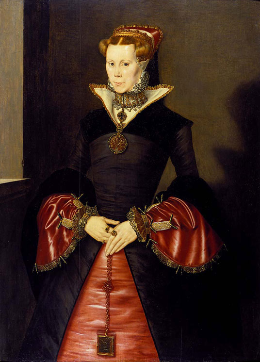 1553 Mary Tudor by Eworth (Fitzwilliam Museum)