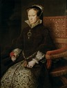 1554 Mary Tudor, Queen of England, second wife of Felipe II by Anthonis Mor (Museo Nacional del Prado - Madrid Spain)