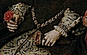 1554 Mary Tudor by Antonio Moro (Prado) bracelets, girdle, and sleeves