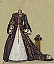 1554 Replica of Mary's wedding dress, created by Tanya Elliott