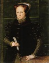 1555-1558 Queen Mary by Hans Eworth (location unknown to gogm)