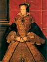 1555-1558 Queen Mary by Hans Eworth (Society of Antiquaries - London UK)