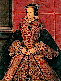 1555-1558 Queen Mary by Hans Eworth (Society of Antiquaries)