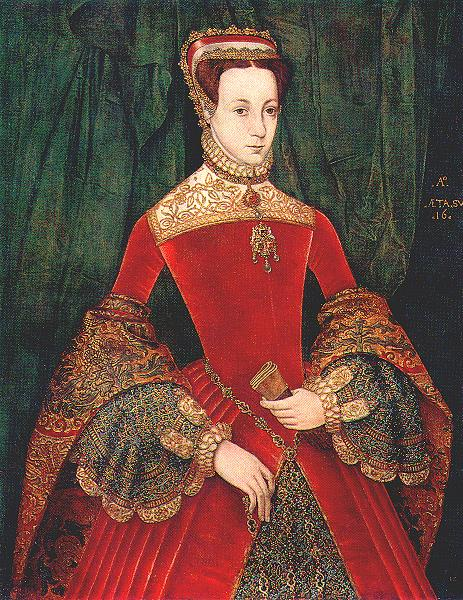1555ca. Mary Fitzalan, Duchess of Norfolk, by Eworth (private collection)
