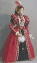 1558 Mary Queen of Scots figurine by Lady Finavon