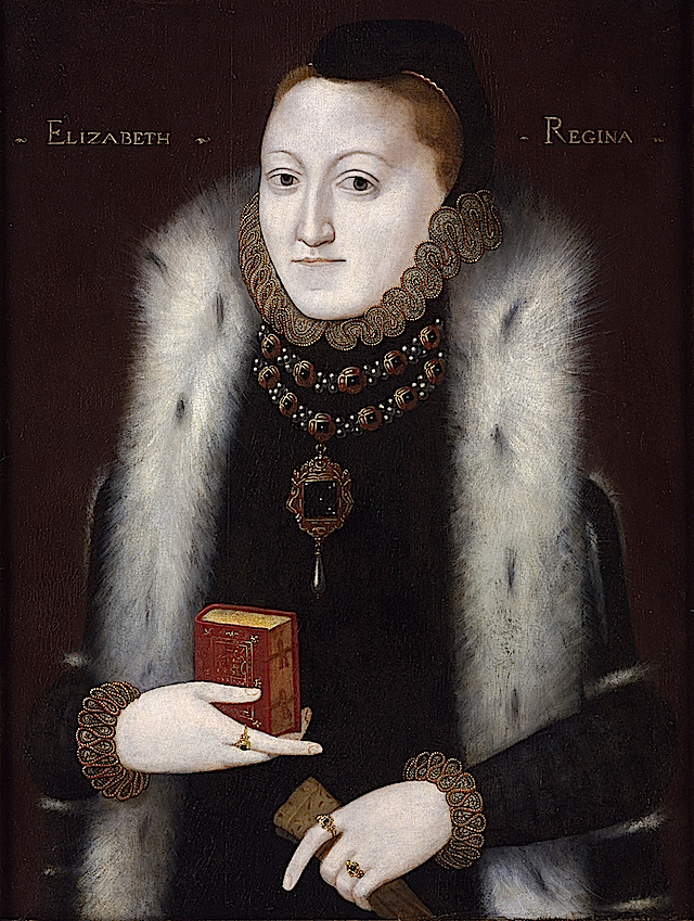young queen elizabeth i portrait. Elizabeth I by English School