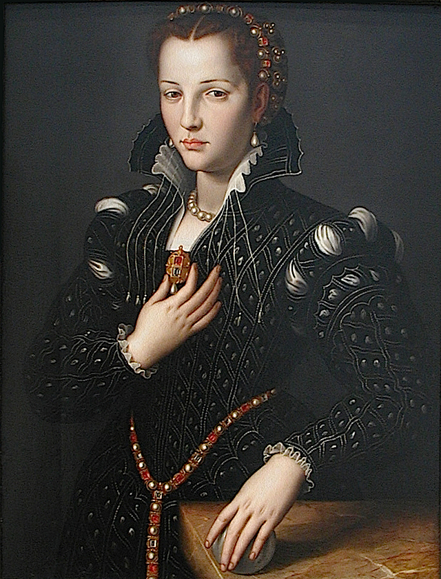1560 Lucrezia di Cosimo de' Medici by Agnolo Bronzino (North Carolina Museum of Art - Raleigh, North Carolina USA) From petrus.agricola's photostream on flickr