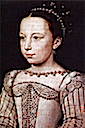 1560ca. Young Margot by Francois Clouet (Musee Conde, Chantilly)
