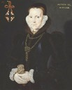 1563 Elizabeth Roydon, Lady Golding by Hans Eworth (Tate Collection)