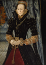1563 Lady of the Wentworth Family, probably Jane Cheyne by Hans Eworth (Arts Institute of Chicago - Chicago, Illinois USA)