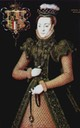 ca. 1565-1568 Unknown Lady, possibly Margaret Clifford Lady Strange by Hans Eworth (Tate Collection - London, UK)