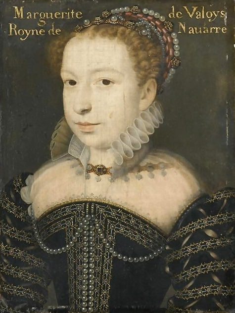 1572 Margot by Clouet (Musée Condé, Chantilly)