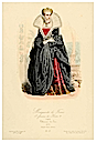 Marguerite de France 1st wife of Henri IV 19th century print