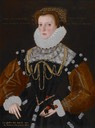 1578 Lady Philippa Coningsby by George Gower (Indianapolis Museum of Art, USA)