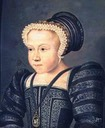 1578 Marie Élisabeth of Valois by François Clouet (location unknown to gogm)