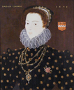 1579 Lady Eleanor Savage attributed to Robert Peake or Federigo Zuccaro (Louisiana State University - Baton Rouge, Louisiana USA)