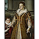 1580-1614 Grand Duchess Bianca Capello de Medici with Her Son by Lavinia Fontana (Dallas Museum of Art)