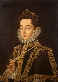 1582-1585 Infanta Catalina by Alonso Sánchez Coello (State Hermitage Museum - St. Petersburg Russia)
