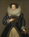 1583 (1700 copy of 1583 original) Mary Kytson, Lady Darcy after George Gower (auctioned by Sotheby's)