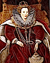 ca. 1585-1590 Elizabeth I in Parliament robes by ? (Helmingham Hall - Stowmarket, Suffolk UK)