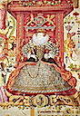 ca. 1585 Ashbourne Charter by Nicholas Hilliard (Queen Elizabeth's Grammer School, Ashbourne)