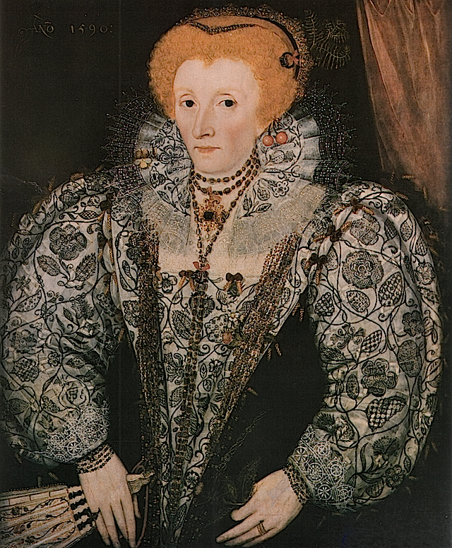 1590 Elizabeth I by ?(Jesus College - Oxford UK) Wm