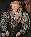 1590 Elizabeth I by ? (Jesus College - Oxford UK)