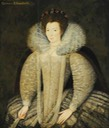 1590s - Mary Cavendish (1555–1632), Countess of Shrewsbury by ? (Hardwick Hall - Doe Lea, Chesterfield, Derbyshire, UK) From bbc.co shadows