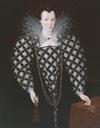 1592 Mary Rogers, Lady Harington by Marcus Gheeraerts the Younger (Tate Collection - London UK)