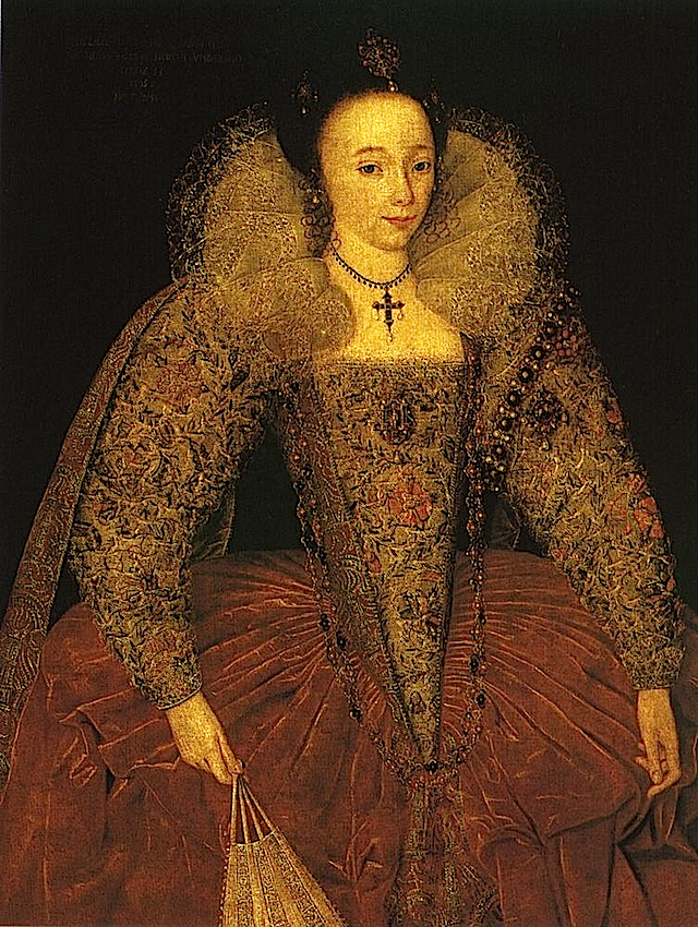 1595 Lady Eleanor Herbert