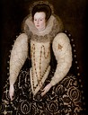1597 Frances, Lady Reynell by Robert Peake (Art Gallery of South Australia, Adelaide)