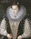 1599 Sarah Blount, Countess of Leicester, wife of Robert Sidney, Earl of Leicester by ? (location unknown to gogm)