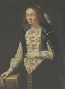 1600 Lady, possibly of the Della Rovere family by ? (auctioned by Christie's) From history-of-fashion.tumblr.com-post-124011276219-1600-italian-school-portrait-of-a-lady-possibly deflaw