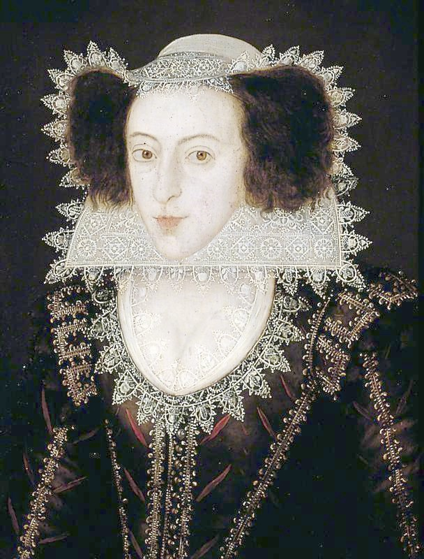 1605-1615 Lady Francis Fairfax by Marcus Gheeraerts the Younger (York Art Gallery - York UK