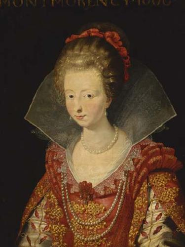 1610 Charlotte de Montmorency after Peter Paul Rubens (auctioned by Christie's) Wp