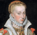 1616 copy of 1570 original Ana de Austria by Bartolomé González y Serrano (Prado) ruff and collar