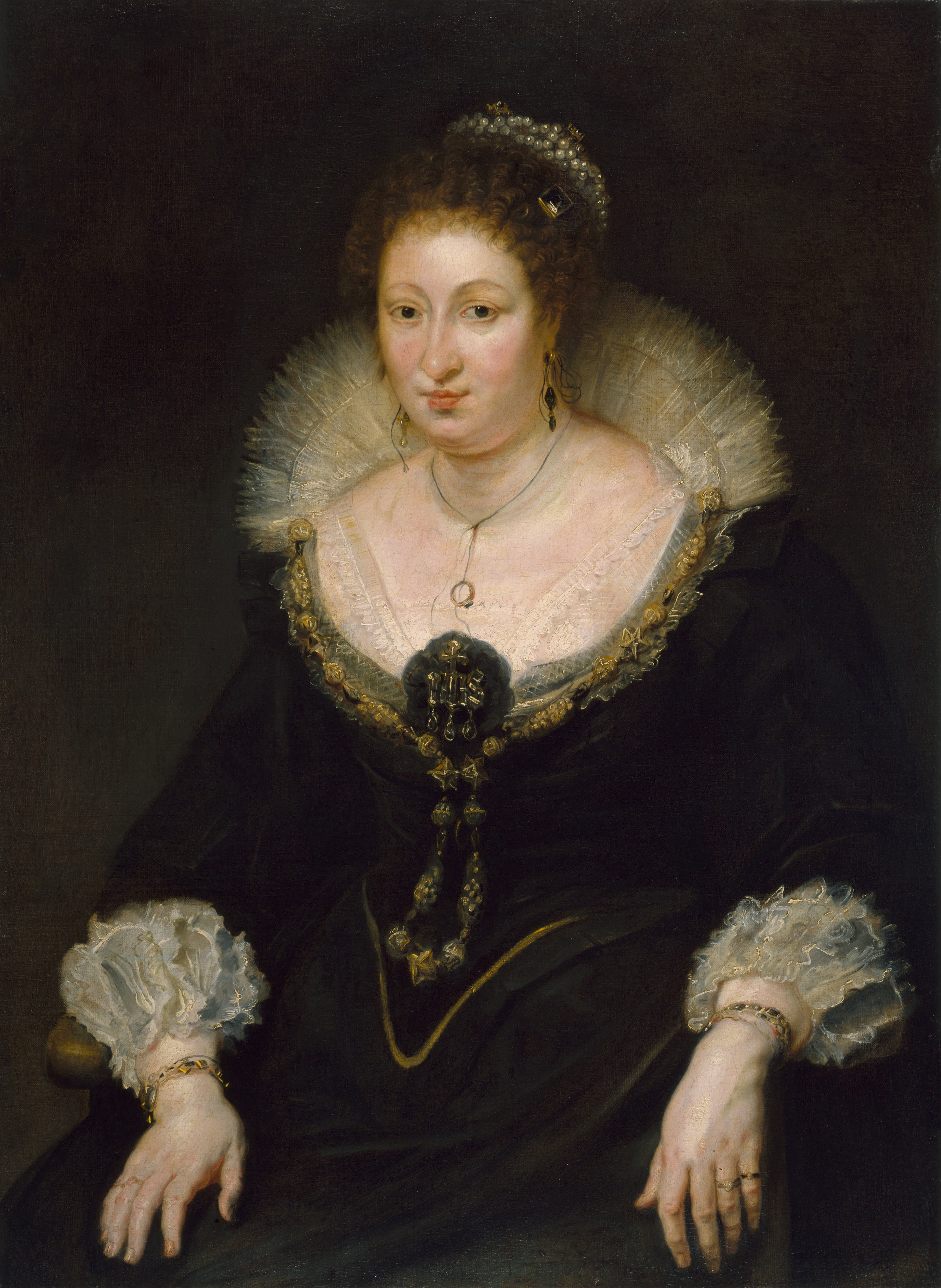 1620 Lady Alethea Talbot Countess Of Arundel By Peter