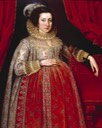 1620 Portrait of a Woman in Red by Marcus Gheeraerts the Younger (Duke of Norfolk collection)