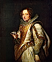 1622-1627 Marchesa Giovanna Cattaneo by Sir Anthonis van Dyck (Frick Collection, New York City)