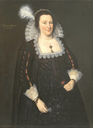 1625 Lady Margaret Livingstone by Adam de Colone (Tate Collection - London, UK) increased exposure filled in shadows trimmed
